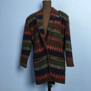 Paul Harris Southwest Wool-Blend Blazer
